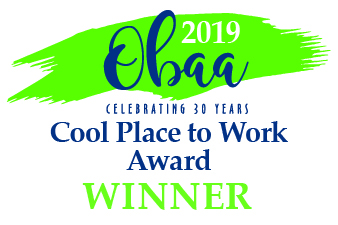 OBAA 2019 Cool Place to Work Award Winner